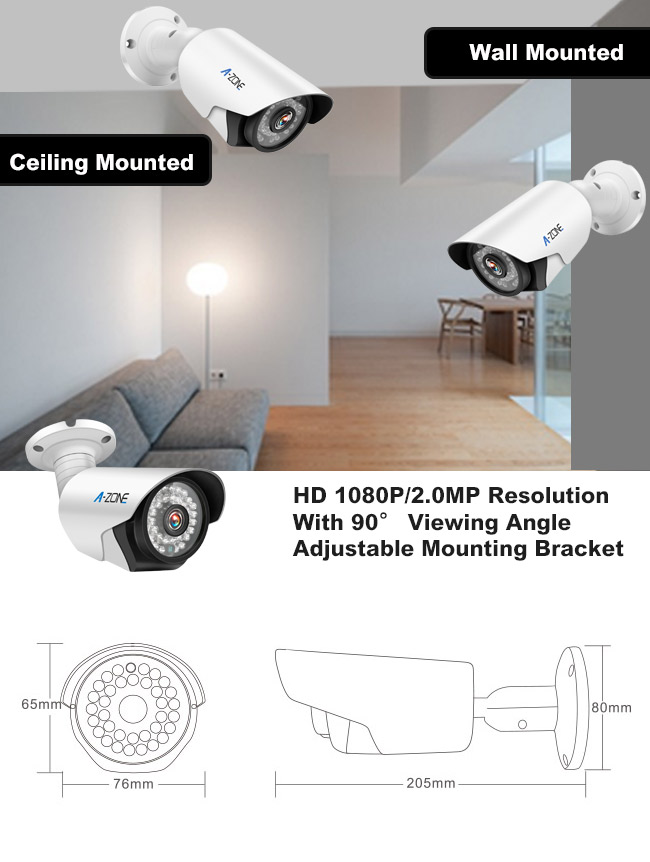 2 0 MP 2 Channel Dvr Security System H 264 High Profile Vedio