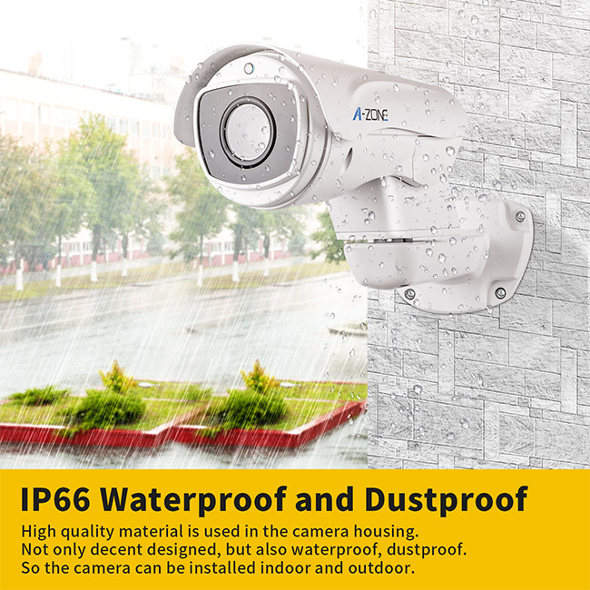 18x Ptz Ip Camera Optical Zoom / Full Hd Ptz Bullet Camera Outdoor