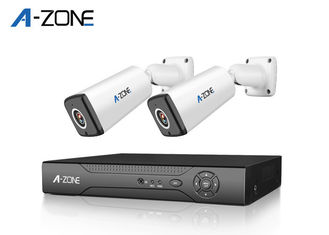 China 2MP 2Ch Poe Security Camera System Outdoor Support Motion Detection supplier