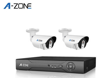 China 2 Camera Cctv Dvr System With Hard Drive , Waterproof AHD CCTV Camera supplier