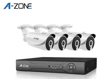 China Infrared 1080P 4 Camera Security System With Dvr Vari Focal 3.6mm Lens 12pcs Nano leds supplier