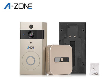 China Smart Wireless Wifi Visual Intercom Doorbell 1/4 CMOS Sensor Motion Detection supplier