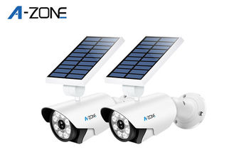 China Bullet Camera Solar Led Motion Sensor Light 8 Pcs Led Lights With Night Sensor supplier