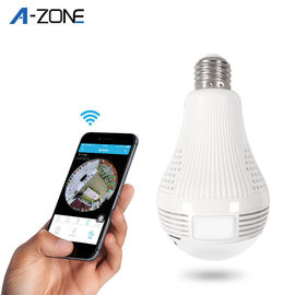 LED Light Bulb Wifi 360 Panoramic Vr Camera Hidden Camera P2P Family Indoor