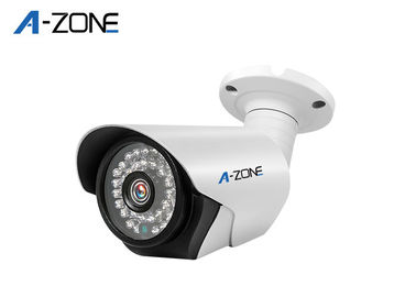 Cctv Outdoor Bullet Camera  , Motion Sensor Security Camera For Factories