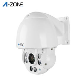 Automatic Waterproof Ptz Speed Dome Camera White Night Vision Speed Adjustable