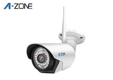 Wireless Ip Camera  Waterproof IP66 , Bullet IP Security Camera High Defination