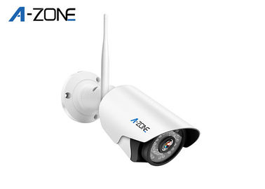 Residential Wireless Mini Bullet Camera  , Wireless Hidden Camera 2 Megapxiel CE FC ROHS