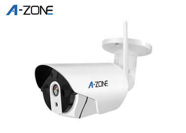 Indoor P2P Wifi Surveillance Camera Wireless , Bullet Cctv Camera 4 independent Detection Areas