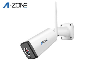1080P  Wireless Bullet Security Cameras P2P Build In IR CUT 2 Years Warranty