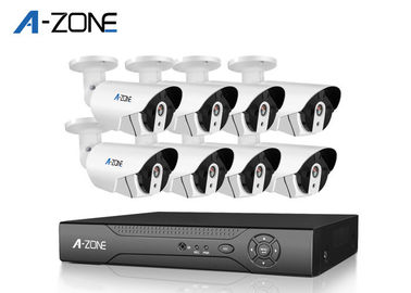 Surveillance 8CH Poe CCTV Camera Kit 2mp Small Ip Camera Poe CE FC ROHS