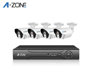 4 Channel 720p Poe Nvr System Outdoor Support Smart Phone CE FC ROHS