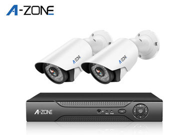 2.0 MP 2 Channel Dvr Security System H.264 High Profile Vedio Compression