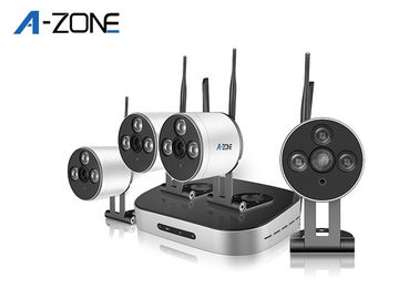 4 Camera Wireless Security System With nvr  , 1080p Cctv Kit Waterproof IP66