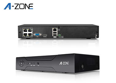 60HZ 4CH DVR And NVR 4 Channel NVR Support Long Distance Surveillance